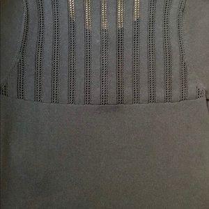 The Kooples Tops - Kooples brand navy blue short sleeve knit top